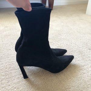 Stuart Weitzman Axiom Sock Booties